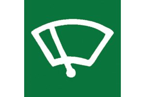 WINDSCREEN WIPER SYMBOL