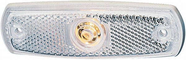 INNER WHITE STEP LAMP 24V