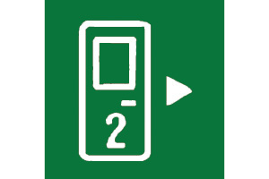 GREEN REAR DOOR SYMBOL