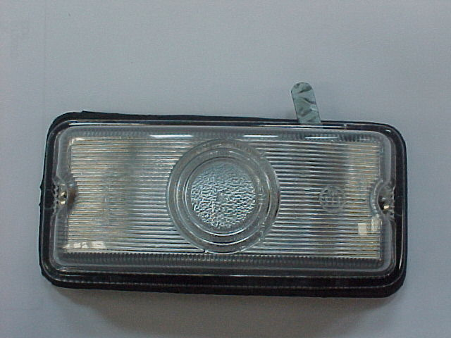 WHITE BAGGAGE LAMP WITH SWITH