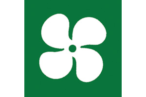 GREEN FAN SYMBOL