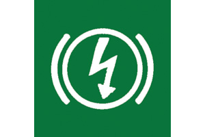 ELECTRIC BRAKE SYSTEM SYMBOL