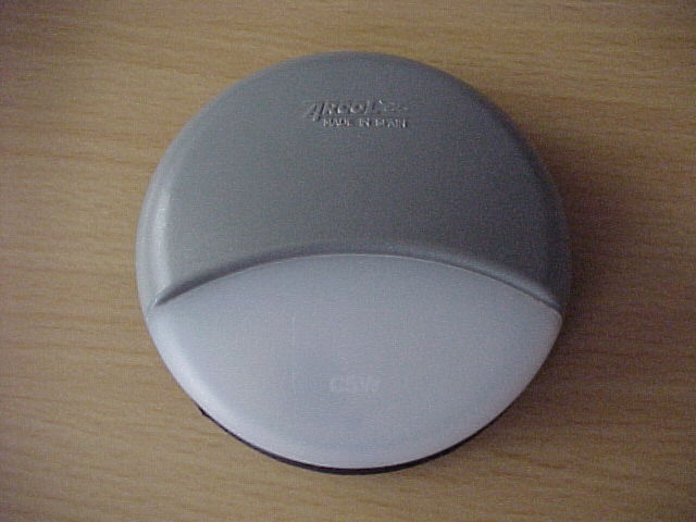 LAMP-STEP(ROUND) GREY/WHITE