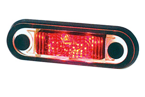 PILOTO GALIBO ROJO TIRA LED HORIZONTAL