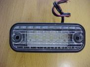LUZ MATRICULA LED YEN. 24V.