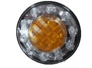 PILOTO INTERMITENTE LED DIAM 100 MM 24V