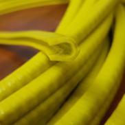 BURLETE PVC ALMA METALICA AMARILLO INT 3.5MM